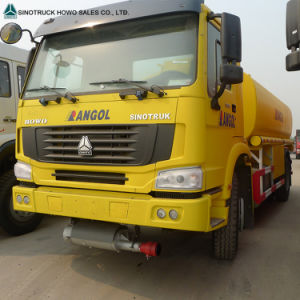 Sinotruk HOWO 6X4 20m3 Gasoline Oil Fuel Tank Truck pictures & photos