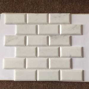 """Bathroom 2X4""""Marble Brick Mosaic Wall Tile pictures & photos"""
