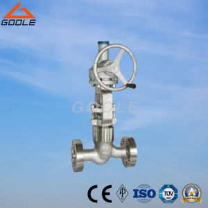High Pressure Pressure Seal Globe Valve Class 2500 Flange Type with Bevel Gear (GAJ541H) pictures & photos