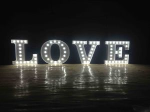 Light-up Letters Light Bulb Letters pictures & photos