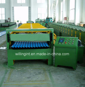 Wall Sheet Roll Forming Machine for Metal Corrugated Roof Panel pictures & photos