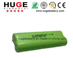 7.2V 2/3AAA 250mAh Ni-MH rechargeable battery pictures & photos