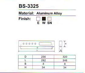 BS-3325 Aluminium Alloy Cabinet handle Series pictures & photos
