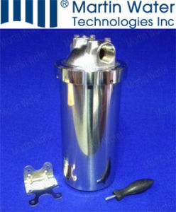 10′′ Ss Stainless Steel Water Cartridge Filter Housing pictures & photos
