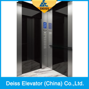 Vvvf Traction Gearless Passenger Villa Home Elevator with Machine Room pictures & photos