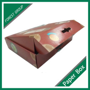 Color Printing Cardboard Paper Box with Handle pictures & photos