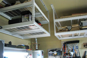 Garage Storage Systems Ideas Ceiling Rack Shelving Metal Adjustable DIY New pictures & photos