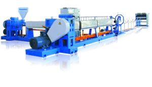 PSP Foamed Fastfood Carry Box Extrusion Machine (JG-ZXC) pictures & photos