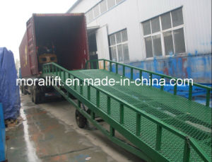 Mobile Hydraulic Cargo Truck Ramp pictures & photos