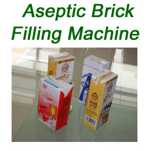 Aseptic Carton Brick Filling Machine Juice Beverage pictures & photos