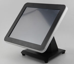 15 Inch POS Terminal with 1024X768 Resolution 450 CD/M2 Brightness pictures & photos