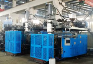 Full-Automatic Ce Approved 50L 60L HDPE Blow Molding Machine pictures & photos