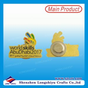 Factory Promotional Cheap Custom Tin Button Badge pictures & photos