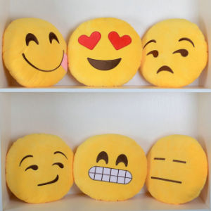 Cute Soft Stuffed Pillow Stuffed Cushion Emoji Plush Stuffed Toy