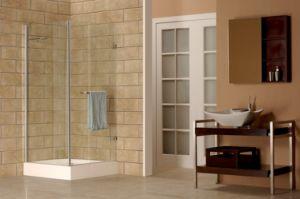 Caml 900*900 Corner Hinge Shower Enclosure/Shower Door/Shower Room (CPM108)
