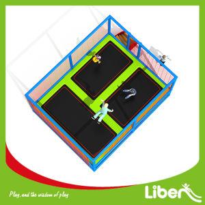 with Enclosure for Preschool Liben Children Outdoor Trampoline pictures & photos