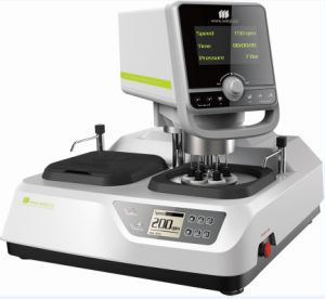 Metallographic Grinding/Polishing Machine Mopao 4s for Hardness Sample pictures & photos