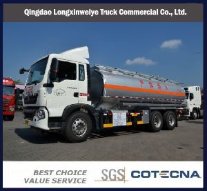 HOWO T5g 6X4 336HP Oil Tanker Truck pictures & photos