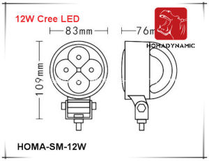 3 Inch 12W LED Work Light pictures & photos