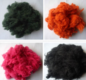 Hollow Conjugated Siliconized Polyester Staple Fiber pictures & photos