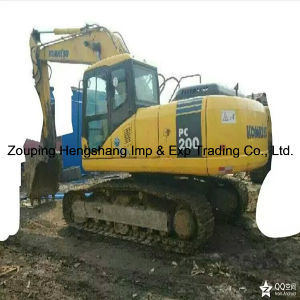 Used Komatsu Excavator with Lowest Price (PC220-7)
