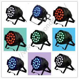 18PCS 10W 4in1 Flat Mini RGB 10W Stage PAR Can LED pictures & photos