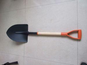 Plastic Grip Wood Handle Shovel pictures & photos