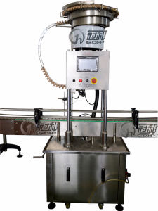 Auto Wine Bottle Capping Machine for Auto Stopper-Feeding-Pressing pictures & photos