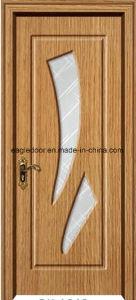 American Latest Design PVC Interior Wooden Doors (EI-P166) pictures & photos