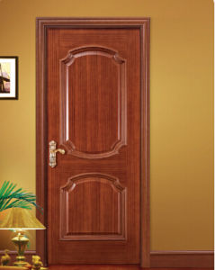 Raised Molding Veneered Hotel Interior Door pictures & photos