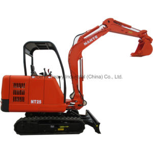 Hot Sale 2.5ton Mini Crawler Digger with CE Certificate pictures & photos