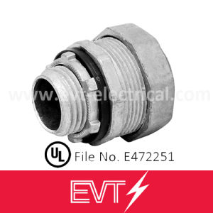 Zinc Liquid Tight Conduit Connector Straight Type pictures & photos