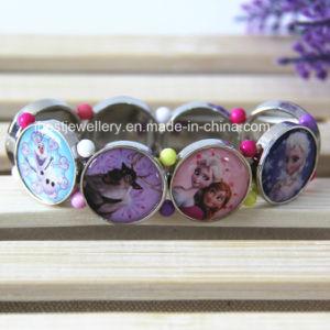 Elastic Eight Part Sticker Frozen Pendant Bracelet pictures & photos