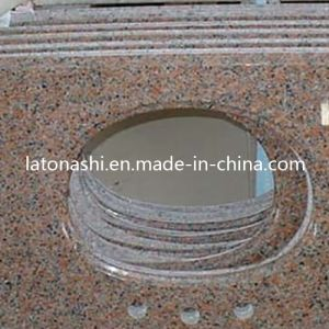 Cheap Kitchen Countertops, G562 Red Granite Bath / Kitchen Vanity Top pictures & photos
