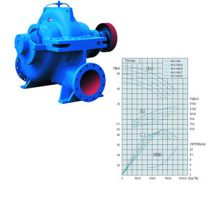 Slow Split Casing Centrifugal Pump (SLOW800-980) pictures & photos