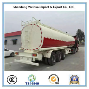 China 40000L Fuel Tank Semi Trailer for Sales pictures & photos