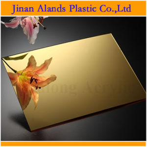 1mm 2mm 3mm Gold and Sliver Acrylic Mirror Plastic Sheet pictures & photos