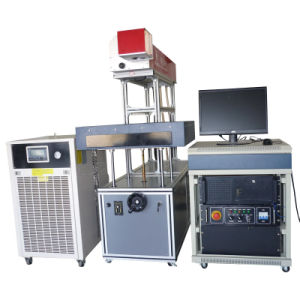 High Power Dynamic Laser Marking Machine for Greeting Card Perforating