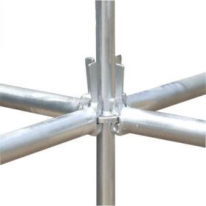 Q235 Steel Hot DIP Galvanized Ringlock Scaffold pictures & photos