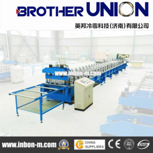 Cold Steel Trapezoidal Metal Roof and Wall Roll Forming Machinery pictures & photos