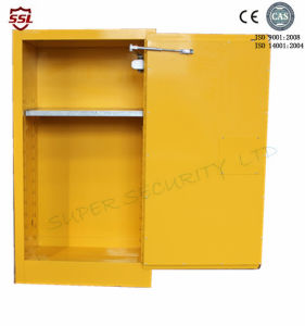 Self-Locking Portable Steel Chemical Safety Cabinets for Flammables and Combustibles