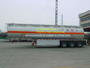 China Oil and Gas Transportation Fuel Tanker Semi Trailer
