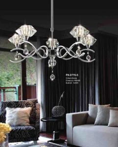New Product Tiffany Suspension Lamp (PX-0770-5B) pictures & photos