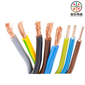 Solid/ Stranded Pure Copper Wire for House Electrical Wiring 450/750V pictures & photos