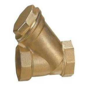 API Brass Thread Y Strainer Valve (GL11W) pictures & photos