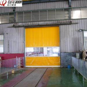 Industrial Automatic Garage Rapid High Speed Clean up Door pictures & photos