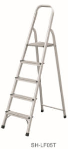Step Stool Foldable Aluminum Ladder (SH-LF05T) pictures & photos
