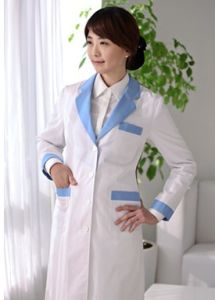 Doctor′s Gown Designs for Doctor Ll-N02 pictures & photos
