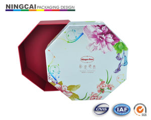 Custom Design Cardboard Paper Box with Tray (NC-194)
