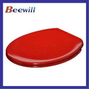 Western Urea Soft Closing Red Toilet Seat pictures & photos